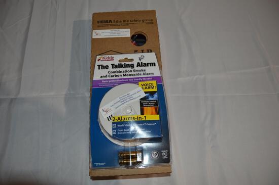 Smoke & carbon monoxide alarm/5 lb fire extinguisher (2786)