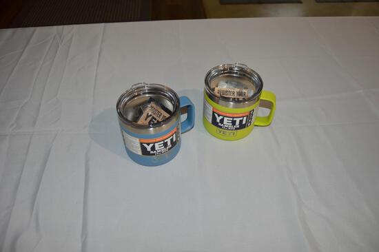 2 Yeti 14 oz mugs (2726)