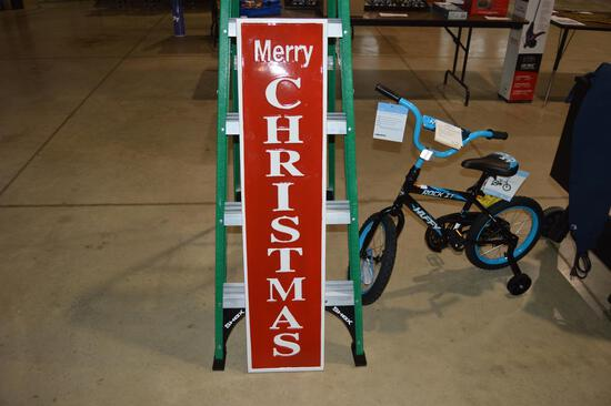 Merry Christmas metal sign (1365)