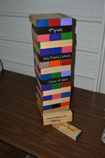 HTC 4th Grade Jenga Game (1655)