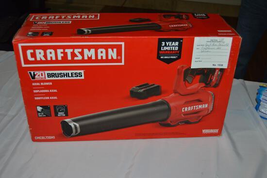 Craftsman 20V blower (1538)