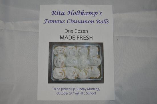 1 dozen cinnamon rolls (2777)
