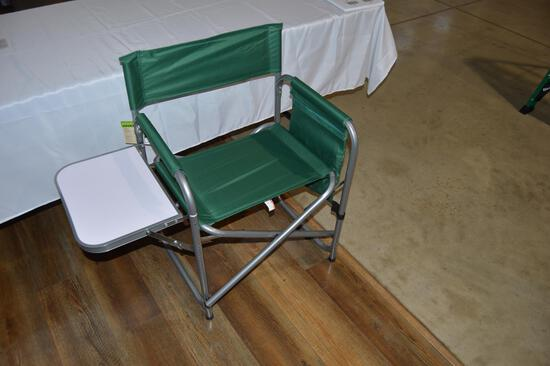 Folding foldable sports/camping chair with side table (1703)
