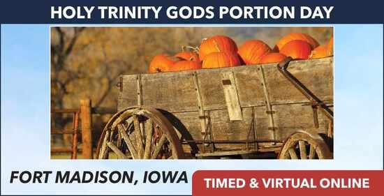 Timed: Holy Trinity God's Portion Day