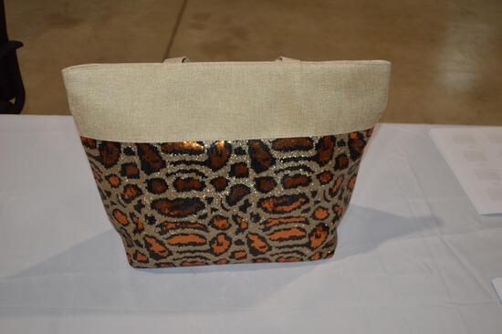 Animal print bag and $125 worth of gift cards (2790)