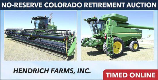 Ring 1 - No-Reserve Colorado Retirement - Hendrich