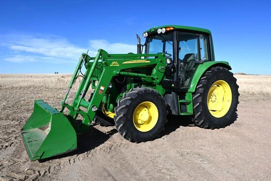 2009 John Deere 6230 Premium MFWD tractor