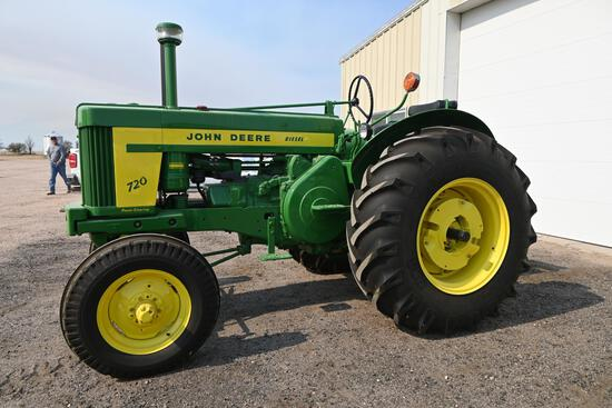 1958 John Deere 720 diesel 2WD tractor