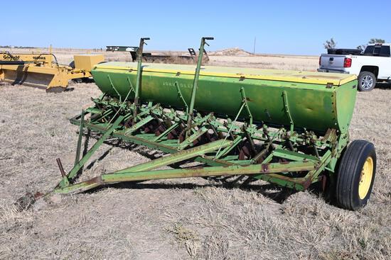 John Deere 13' grain drill