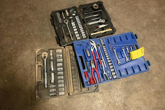 Misc. tool & socket sets