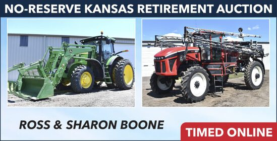 No-Reserve Kansas Retirement Auction - Boone