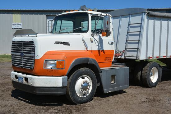 1989 Ford Aeromax L9000 single axle day cab semi