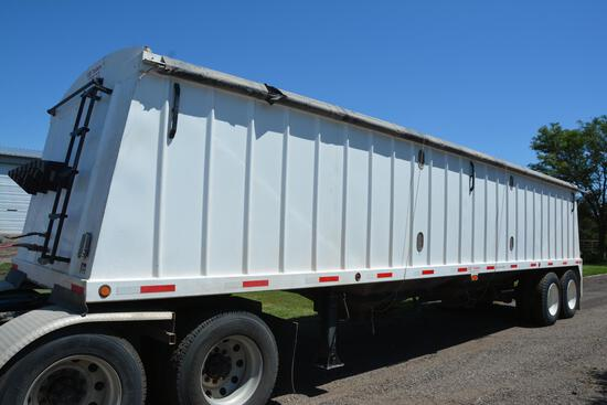 2010 GSI 36' steel hopper bottom grain trailer
