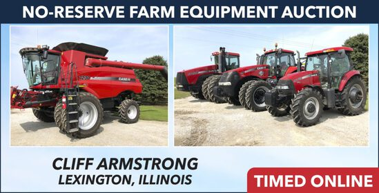 No-Reserve Farm Equipment Auction - Armstrong