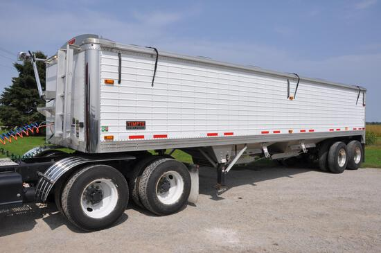 2015 Timpte 34' aluminum hopper bottom trailer