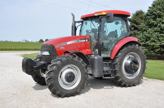 2004 Case-IH MXU125 MFWD tractor