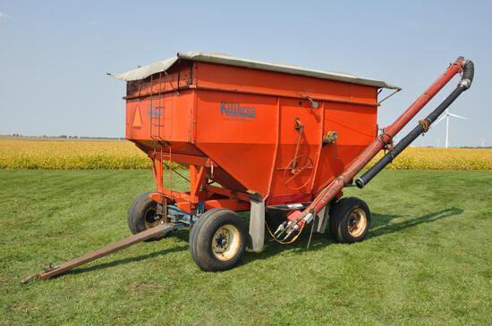 Killbros 350 gravity wagon w/seed auger