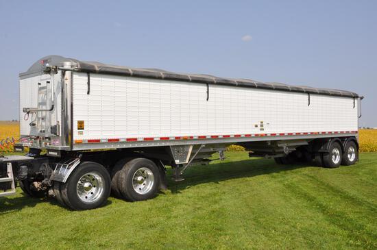 2011 Wilson 41' hopper bottom trailer