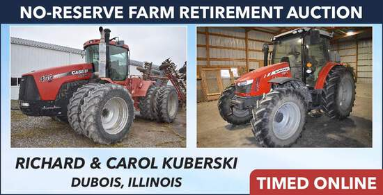 No-Reserve Farm Retirement Auction - Kuberski