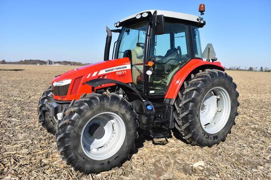 2015 Massey Ferguson 5611 MFWD tractor