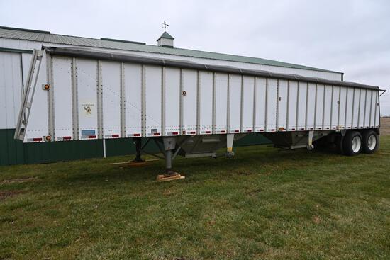 1993 Merritt 43' hopper bottom trailer