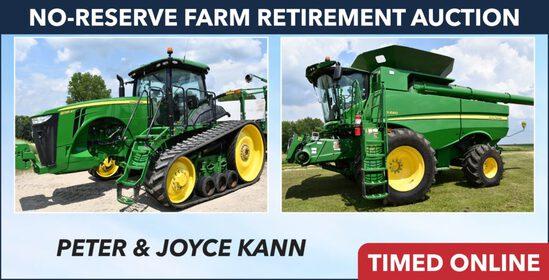 No-Reserve Farm Retirement Auction - Kann