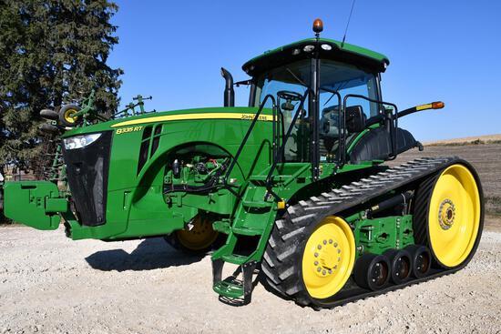 2012 John Deere 8335RT track tractor