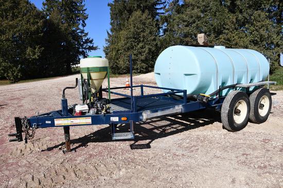 Schaben 1,600 gal. liquid tender trailer