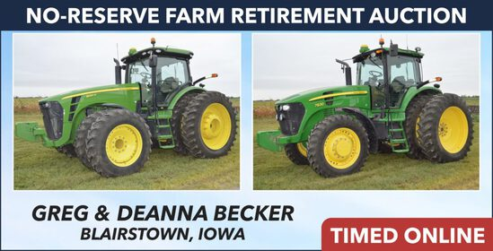 No-Reserve Farm Retirement Auction - Becker