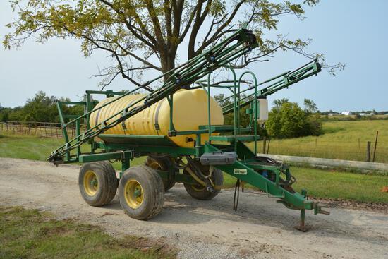 Bestway 500 gallon pull type sprayer
