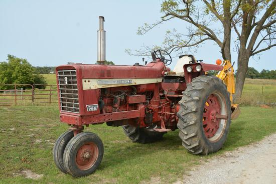 International Farmall 756 2wd tractor