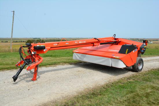 2011 Kuhn Knight FC 353 GC 11' mower conditioner