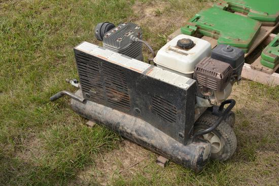 Powermate Contractor portable air compressor