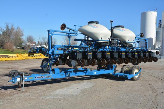 Kinze 3660 ASD12/23 Interplant planter