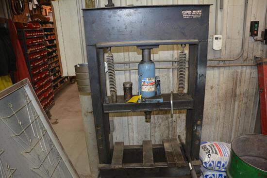 20 ton hyd. shop press