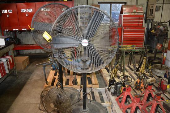 "Central Machinery 32"" shop fan"
