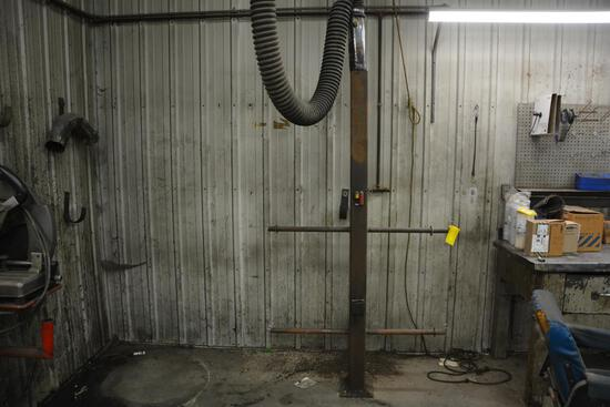 Large quantity of hydraulic hose
