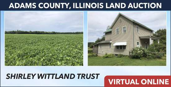 Adams County, IL Land Auction - Wittland