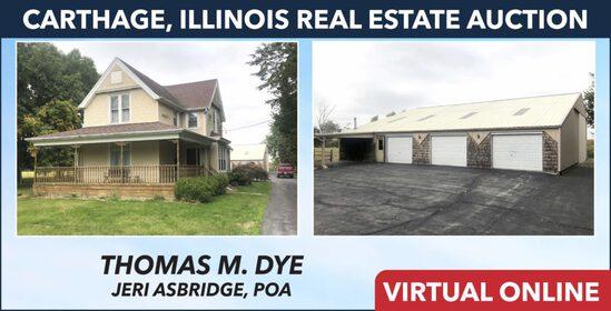Carthage, IL Real Estate - Dye