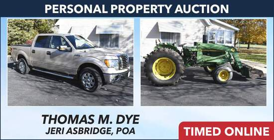 Ring 1 - Personal Property Auction - Dye