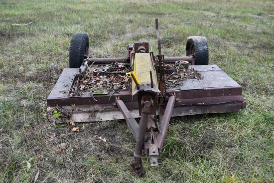 """80"""" pull type rotary mower"""