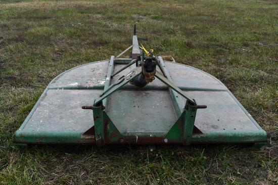 John Deere 709 7' 3pt rotary mower