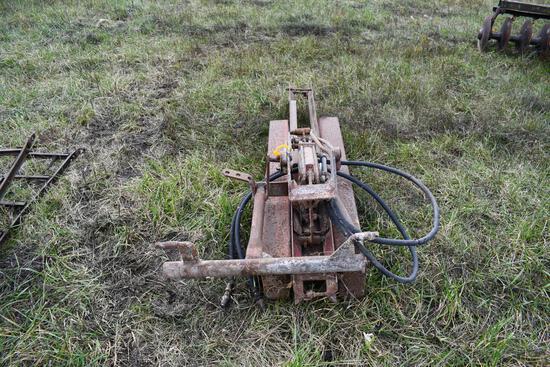 hydraulic hoist for wagon or truck
