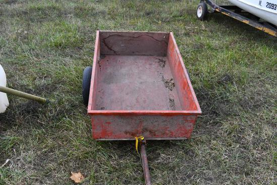 "4'x32"" vintage lawn cart"