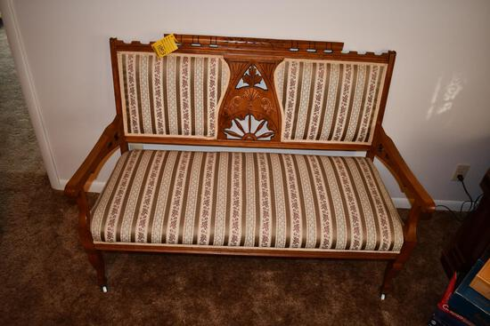 Settee Bench on rollers