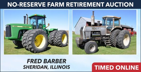 Ring 1: No-Reserve Farm Retirement Auction -Barber
