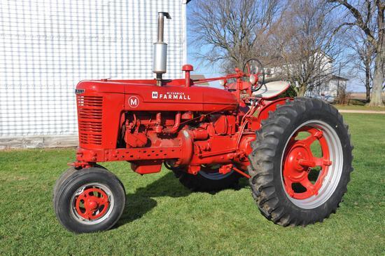 1952 Farmall M tractor