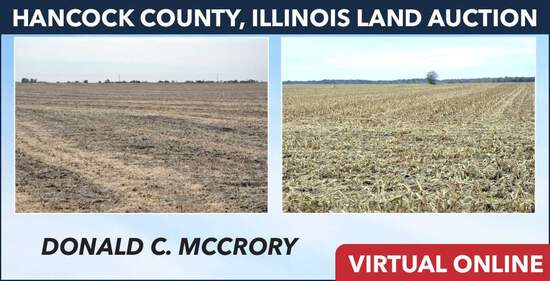 Hancock County, IL Land Auction - McCrory