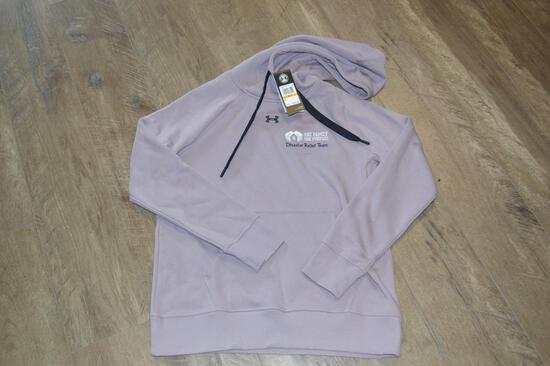 Woman's Small Under Armour OFOP Light Purple Hoodie