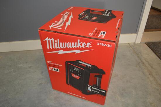 Milwaukee Bluetooth Charger & Radio